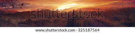 Western  - stock photo