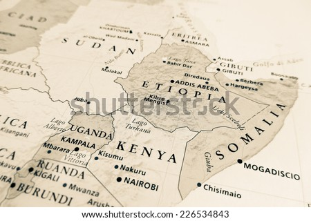 Western Africa map