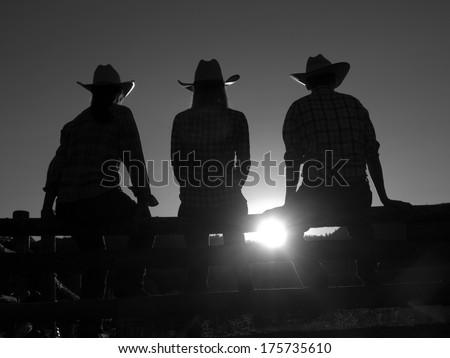 Western cowboy style - stock photo