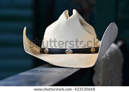 Western hat - stock photo