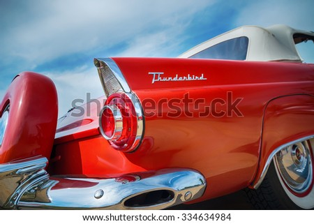 Thunderbird Car Stock Images Royalty Free Vectors