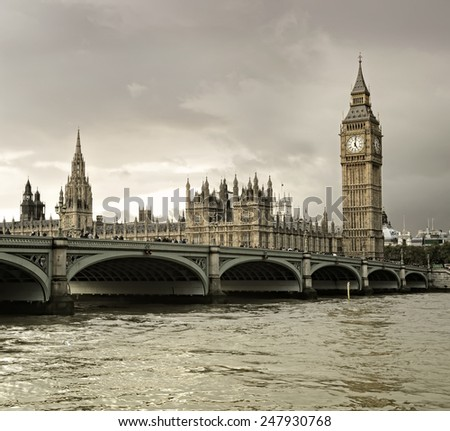 westminster  - stock photo