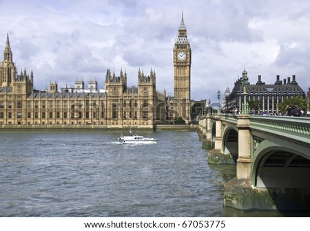 Westminster Bridge - stock photo