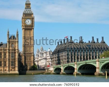 Westminster Bridge, London - stock photo