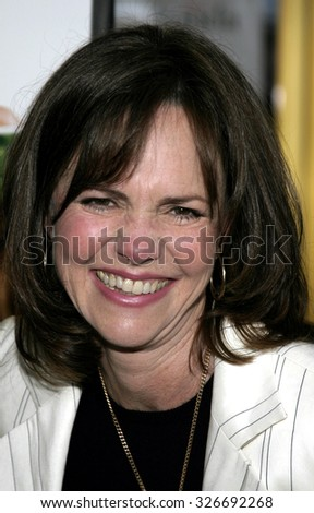 "WESTWOOD. CALIFORNIA. April 29, 2005. Sally Fields attend at the Los Angeles Premiere of ""Monster-In-Law"" at the Mann National Theatre in Westwood, Los Angeles, California."