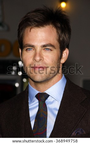 "WESTWOOD, CALIFORNIA - October 26, 2010. Chris Pine at the Los Angeles premiere of ""Unstoppable"" held at the Westwood Village Theater, Los Angeles."