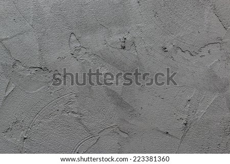wet cement texture for background  - stock photo