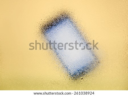 Wet tablet computer