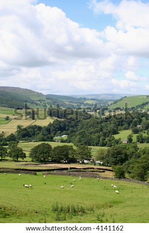 Wharfedale, Yorkshire Dales National Park, England.
