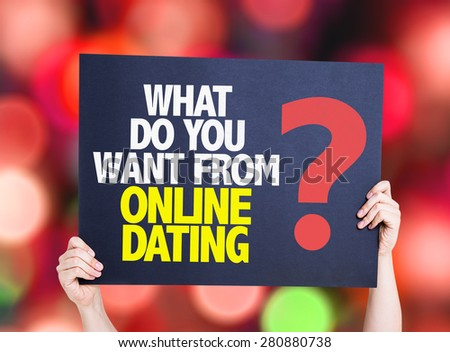 What to do with online dating