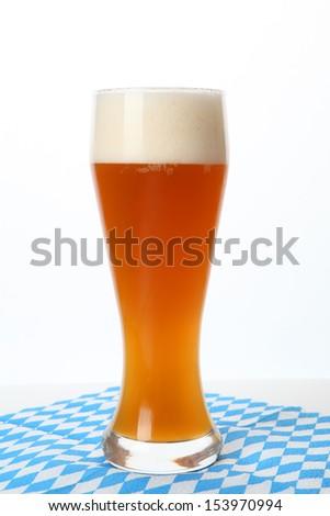 wheat beer - stock photo