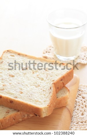 Wheat bread with