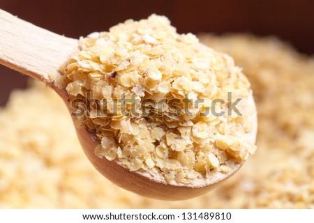 wheat germ - stock photo