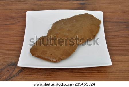 Wheat gluten - stock photo