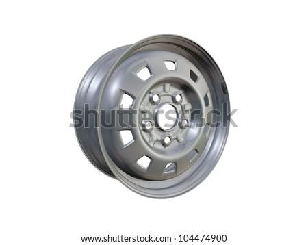 wheel Rim - stock photo