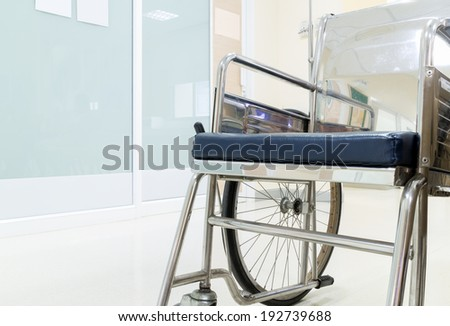 wheelchair for patient
