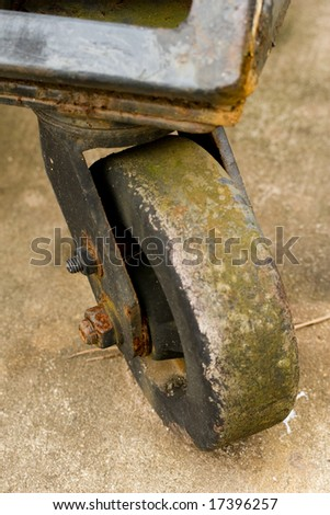 wheelie - stock photo