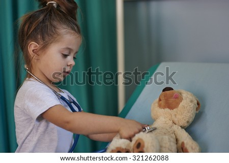 When I grow up I will be a doctor