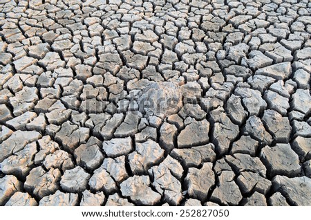 When our world water shortage - stock photo