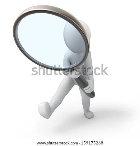 where are you? - stock photo