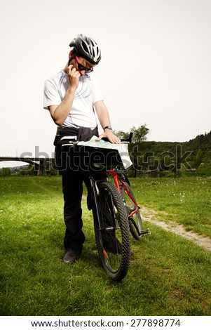 Which way I have to go? - stock photo