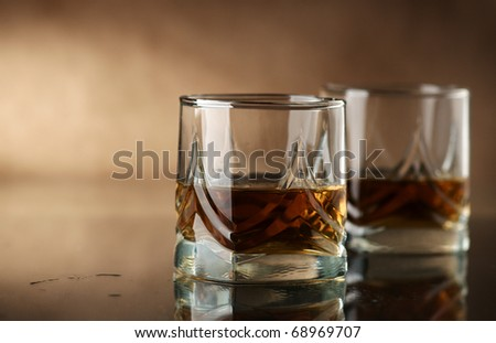 Whiskey - stock photo