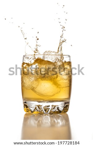 Whiskey drink