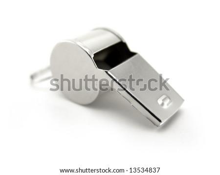 whistle - stock photo