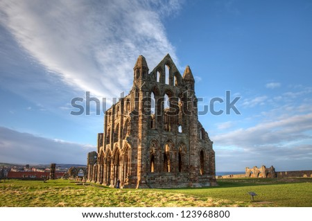 Whitby a popular seaside resort on the North Yorkshire coast England UK