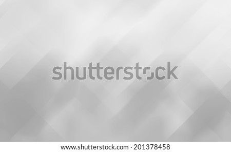 white abstract background design, random pattern of faint blurred diamond and rectangle angled lines with lighting effect, white gray color background, modern contemporary background  - stock photo