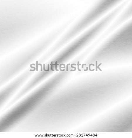 white abstract background silver metal texture - stock photo