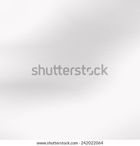 white abstract background smooth gradient white metal texture or glass texture - stock photo