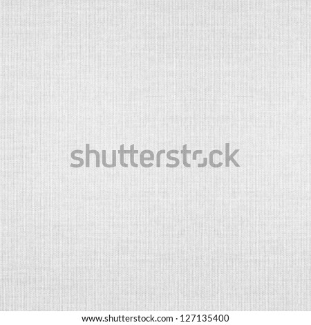 white abstract canvas background or grid pattern linen texture - stock photo