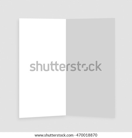 White abstract square badge, blank button template flat designed shadow and light background for web user interfaces, applications and apps abstract triangle