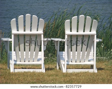White Adirondack Chairs