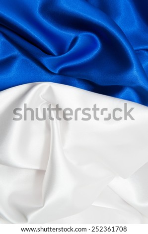 white and blue satin fabric for background