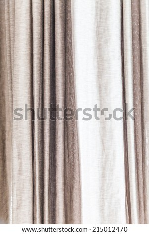 Curtains Ideas beige and brown curtains : Window Drapes Stock Images, Royalty-Free Images & Vectors ...