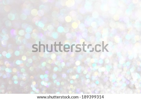 White and silver  festive Christmas elegant abstract background soft lights  - stock photo
