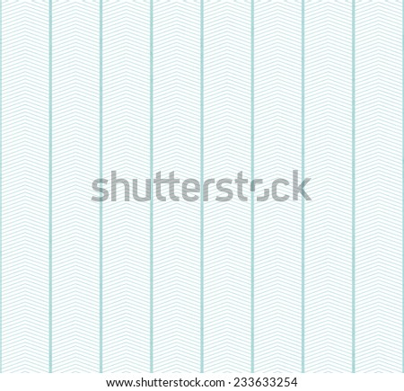 White and Teal Zigzag Textured Fabric Pattern Background that is seamless and repeats - stock photo