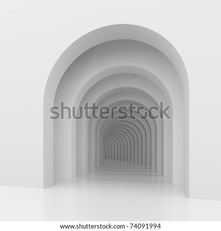 White Arches - stock photo
