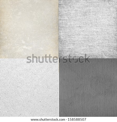 white background canvas texture collection
