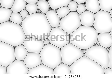 white background from the cells, web or bubbles - stock photo