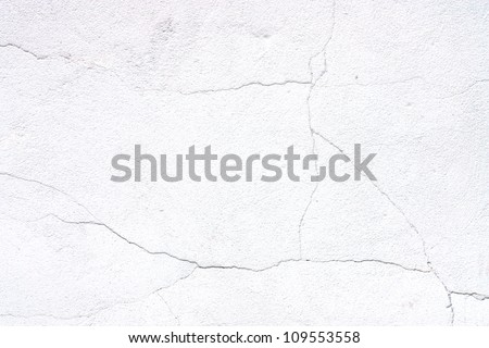 white background, grunge wall texture - stock photo