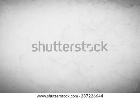 White Background of Paper Show patterns. Stain fungus When preserved in marshland badly damaged and a hotbed of germs. - stock photo