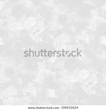 white background wall texture peeling paint pattern as winter camouflage, seamless background - stock photo