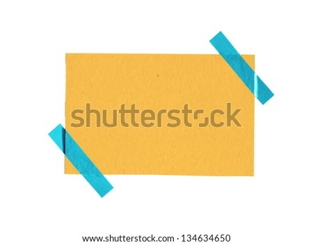 White background with colorful paper