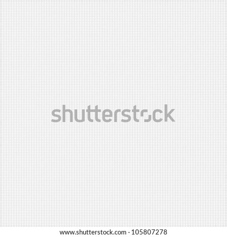 white background with delicate grid pattern - stock photo
