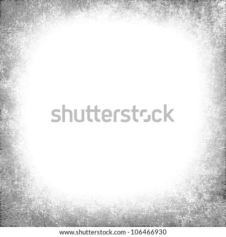 white background,with gray grunge vignette - stock photo