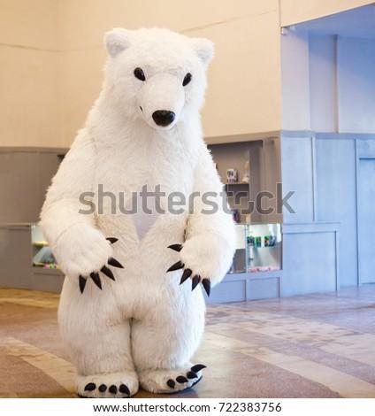 White big bear doll stock photo royalty free 722383756 shutterstock white big bear doll publicscrutiny Choice Image