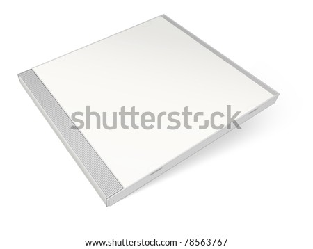 White blank cd case - put your own design on it!